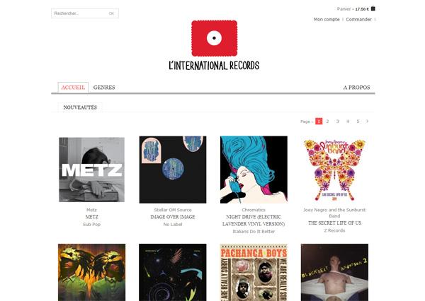 Homepage - L'International Records