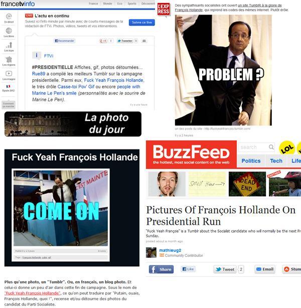 François Hollande est partout